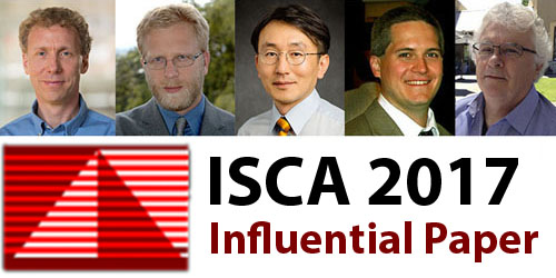 ISCA Influential Paper Award